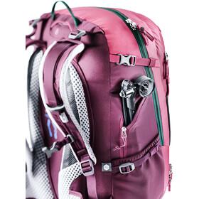 Deuter Trans Alpine 28 SL Backpack Women ruby-blackberry